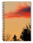 November Sunset IIi Spiral Notebook
