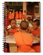 Novice Monks Spiral Notebook