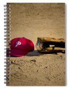 Now Pitching For The Phillies Spiral Notebook