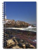 Nubble Light  Spiral Notebook