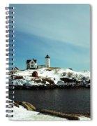 Nubble Lighthouse 3 Spiral Notebook