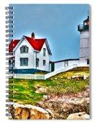 Nubble Lighthouse Cape Neddick Maine 2 Spiral Notebook
