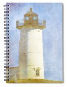 Nubble Lighthouse Spiral Notebook