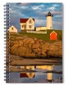 Nubble Lighthouse No 1 Spiral Notebook