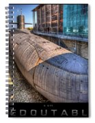 Nuclear Submarine Framed Spiral Notebook