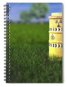 Nuclear Waste Spiral Notebook