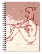 Nude 27 Spiral Notebook