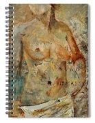 Nude 453130 Spiral Notebook