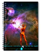 Nude Amongst The Stars 3... Spiral Notebook