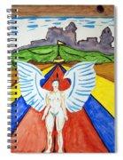 Nude Angel Road Spiral Notebook