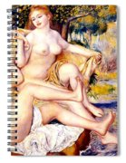 Nude Bathers Spiral Notebook