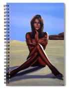 Nude Beach Beauty Spiral Notebook