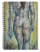 Nude Brunet Spiral Notebook