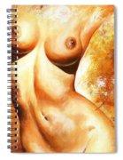 Nude Details Spiral Notebook