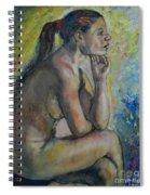Nude Eva 2 Spiral Notebook