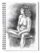Nude Female Sketches 2 Spiral Notebook