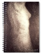 Nude Female Torso Drawings 4 Spiral Notebook