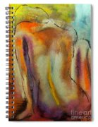 Nude IIi Spiral Notebook