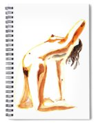 Nude Model Gesture IIi Spiral Notebook
