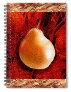 Nude N Beautiful Pear  Spiral Notebook