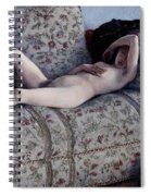 Nude On A Couch Spiral Notebook