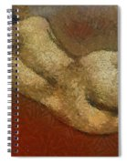 Nude On A Red Spiral Notebook