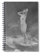 Nude Outdoors, 19th Ct Spiral Notebook