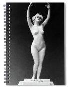 Nude Posing, 1921 Spiral Notebook