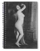 Nude Posing, 19th Ct Spiral Notebook