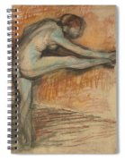 Nude Study For A Dancer At The Bar Spiral Notebook