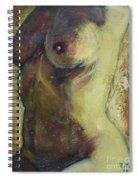 Nude Female Torso Spiral Notebook