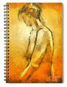 Nude Viii Spiral Notebook