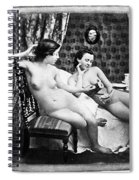 Nudes Having Tea, C1850 Spiral Notebook