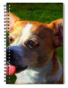 Num Num Spiral Notebook