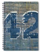 Number 42 Spiral Notebook