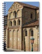 Nun Walking Spiral Notebook