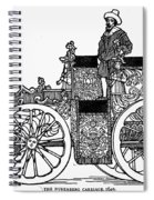 Nuremberg Carriage, 1649 Spiral Notebook
