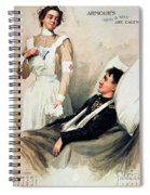 Nurse: Calendar, 1899 Spiral Notebook