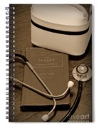 Nurse - The Care Giver Spiral Notebook