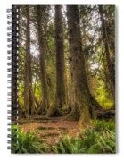 Nursery Log Spiral Notebook