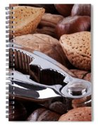 Nutcracker And Whole Nuts Spiral Notebook