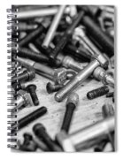 Nuts And Bolts Spiral Notebook