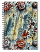 Nuts And Rivets  Spiral Notebook