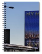 Ny Nj Super Bowl Xlviii Spiral Notebook