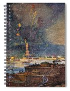 Ny: Statue Of Liberty, 1886 Spiral Notebook
