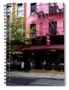 Ny Streets - Cafe Borgia II Soho Spiral Notebook