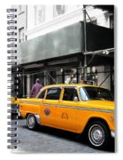Ny Streets - Yellow Cabs 1 Spiral Notebook