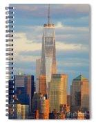 Ny Sundown One World Trade  Spiral Notebook