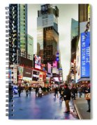 Ny Times Square Impressions I Spiral Notebook