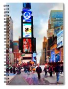 Ny Times Square Impressions IIi Spiral Notebook